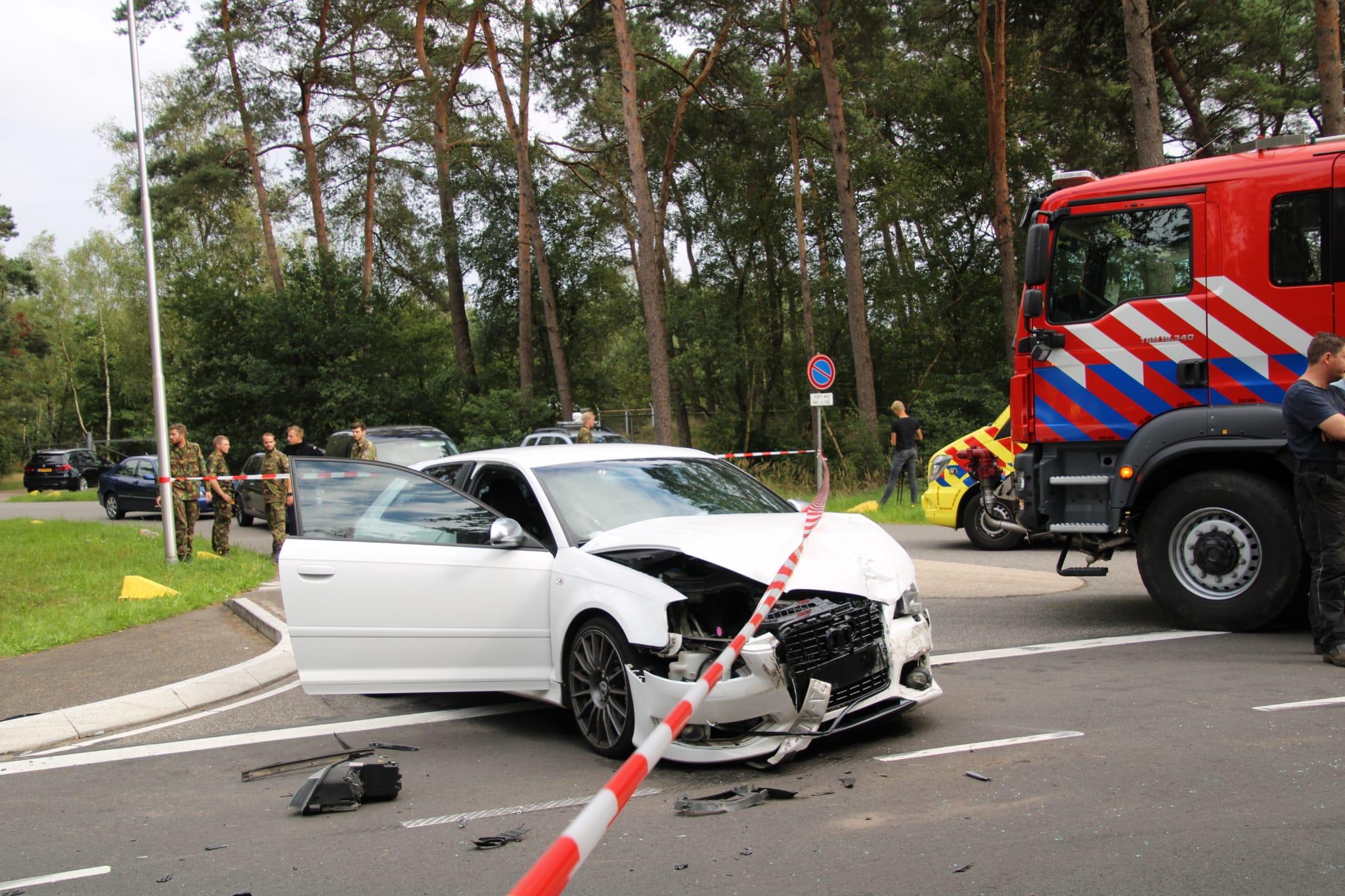 Zwaar ongeval aan de Wolweg in Stroe.