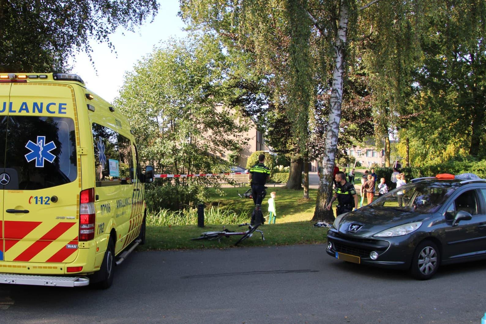 Meisje op fiets ernstig gewond bij ongeval op de Doctor Albert Schweitzerlaan in Barneveld.
